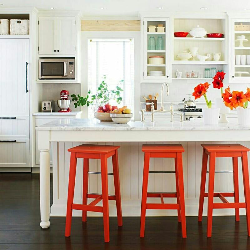 Pontos de cor na decoração - 12 maneiras de usar