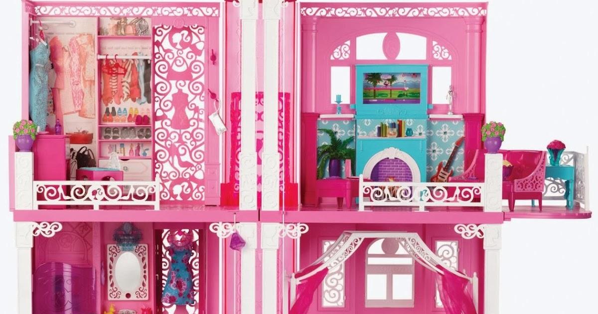 NUOVO giocattolo TELEVISIONE per casa di Barbie