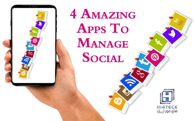 4 Amazing Apps To Manage Social Networks Faster,Hootsuite,Buffer,Feedly,application,Audiense,Apps,4 Amazing Apps,social Networks,Social Media,Apps To Manage Social Networks,