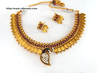 Peacock style South Necklace Set Cheap
