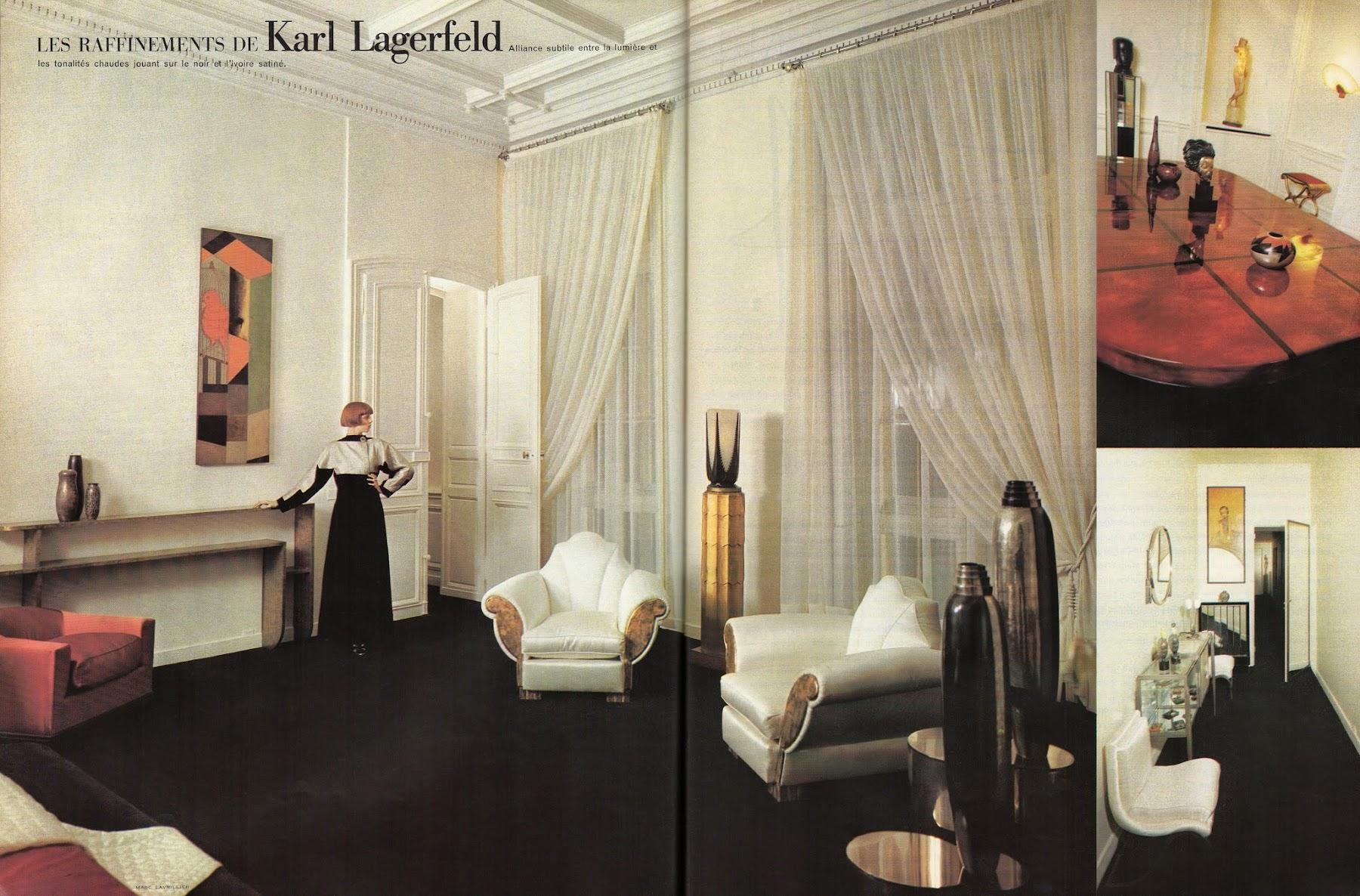 Karl Lagerfeld S Paris Apartment 1973