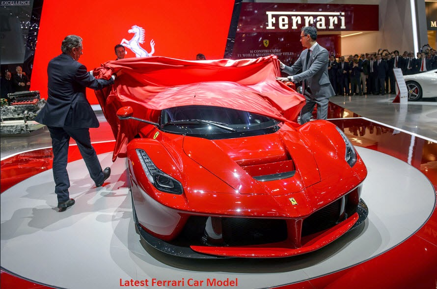 Ferrari 2014 Cars Model Pitcher.Information And Wallpapers
