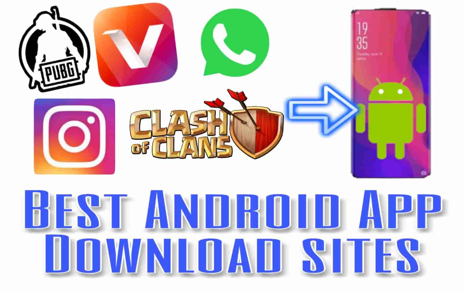 Top 20 Best Free APK Android App Download Site