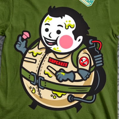 "Johnny Cupcakes x Ghostbusters ""Peter Venkman Big Kid"" T-Shirt"