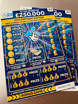 £2 25th Anniversary Scratchcard