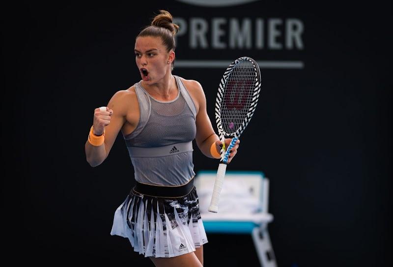 Maria Sakkari Clicks at 2020 Brisbane International WTA Premier Tennis Tournament 7 Jan-2020