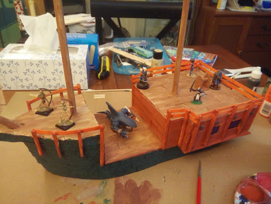 Boat Building for Frostgrave: Phase 1