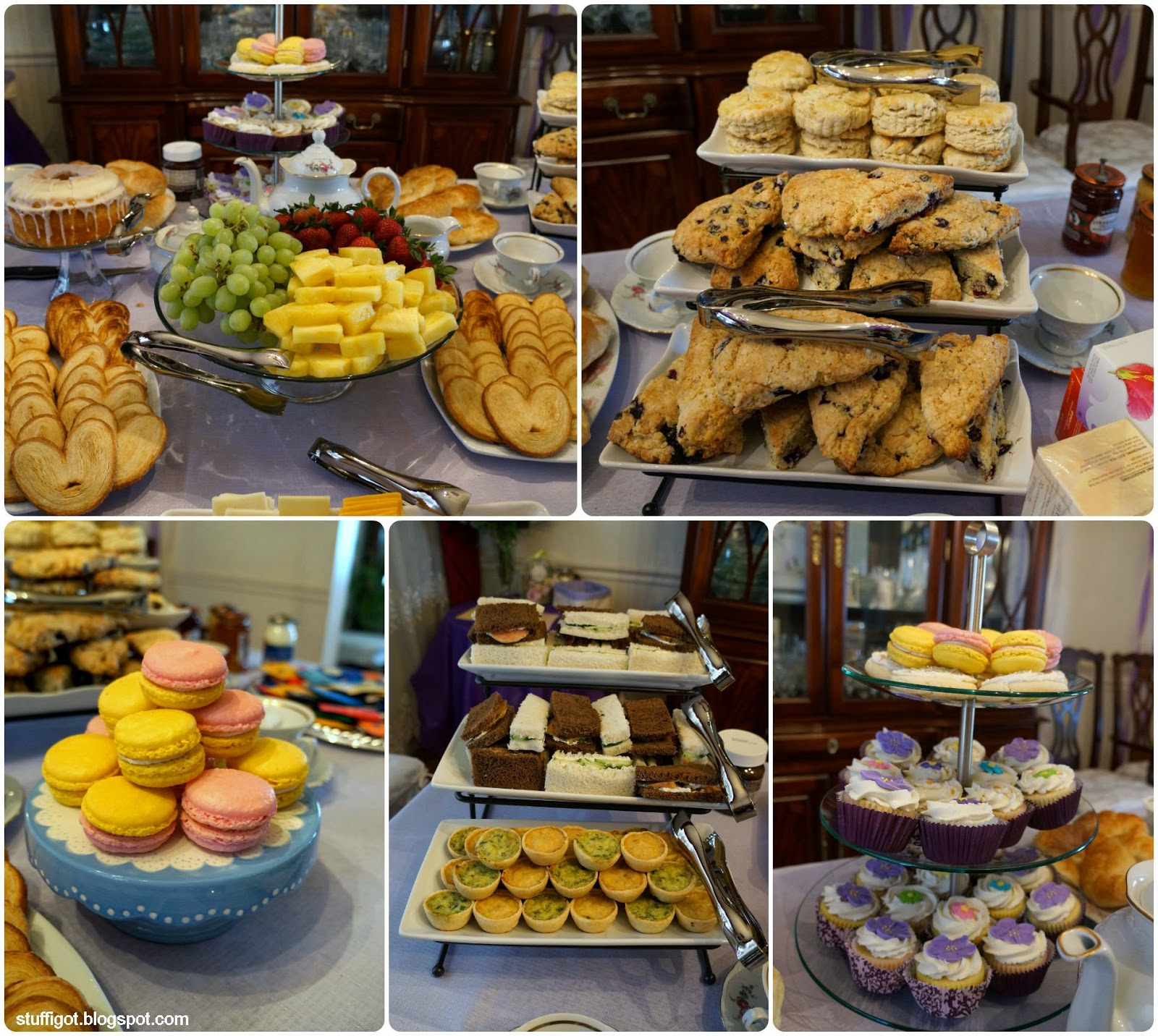 Wedding Party Food: Crafty And Wanderfull Life: A Bridal Tea Party For My Sister