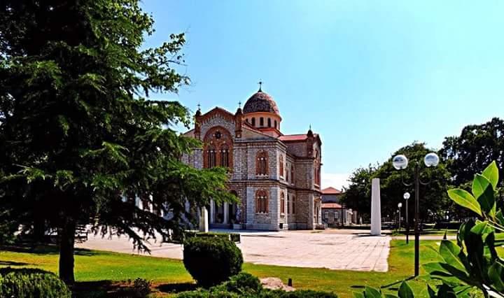 Εργασίες συντήρησης στον Ιερό Ναό Κοιμήσεως Θεοτόκου στον Αμπελώνα από την Περιφέρεια Θεσσαλίας