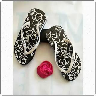 Sandal AB Cewe Tebal Love Bear sandal murah