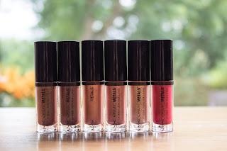 NYX Cosmic Metal Lipsticks