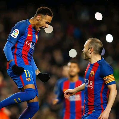 I doubt Neymar Would Fit In Barca Squad - Andres Iniesta