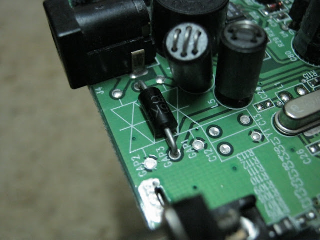 TVS Diode on a PCB