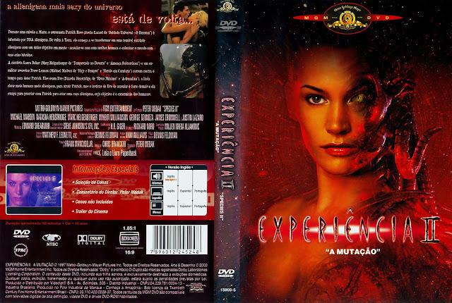 Capa DVD Experiência II