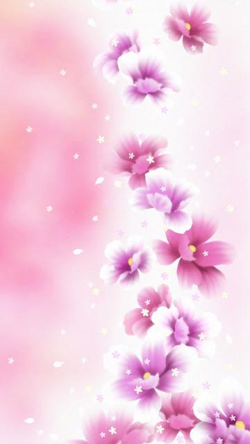 Hình nền hoa 3D đẹp cho iPhone 7 Plus