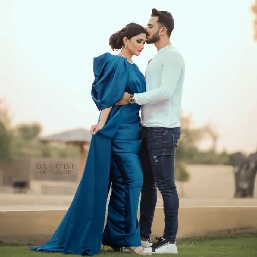 Hassan Ali and Samyah Arzoo 1st Wedding Anniversary Ethereal Photoshoot
