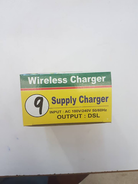 Charger 9V 1 amp DSL