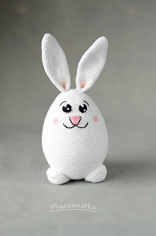 Easter bunny egg crochet pattern | Lapin de paques, Crochet, Oeufs ... | 960x636