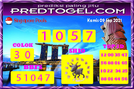 Pred SGP Kamis 09 September 2021