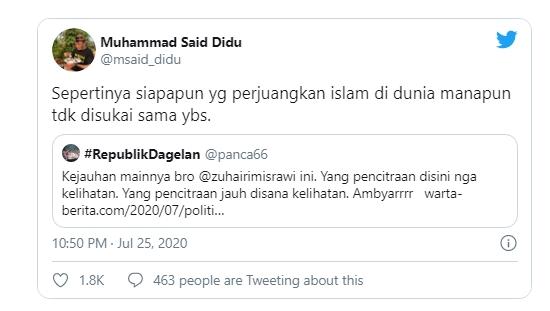 Politikus PDIP Zuhairi Misrawi Tuding Hagia Sophia Dijadikan Masjid Buat Pencitraan Erdogan
