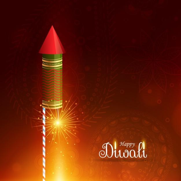 diwali firecrackers  rocket image