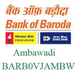 Vijaya Baroda Ambawadi Branch Ahmedabad New IFSC