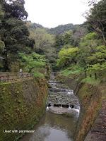 Former industrial canal, Sengan-en Garden - Kagoshima, Japan