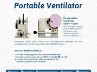 Indonesia Segera Produksi Massal Portable Ventilator