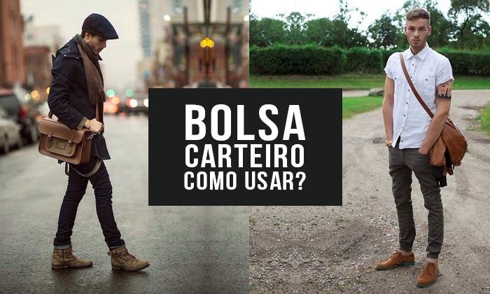 053795e54 Macho Moda - Blog de Moda Masculina: BOLSA CARTEIRO MASCULINA: Como ...