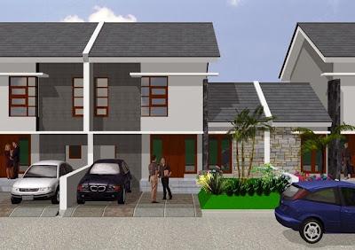 Gambar desain rumah minimalis tipe 92