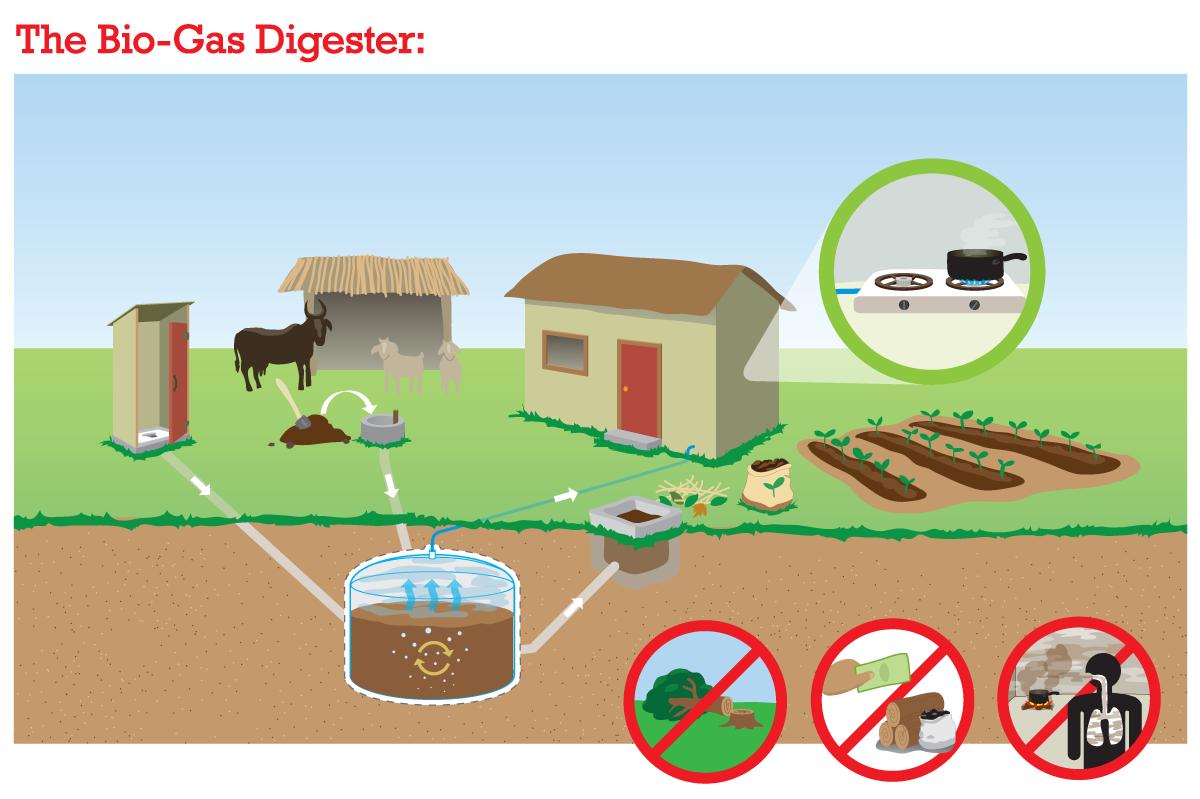 Darimana Asal Energi Biogas Geograph88