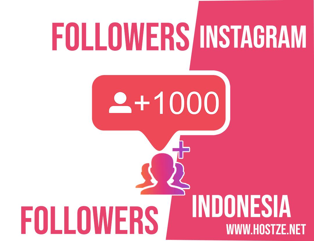Cara Menambah 3600 Followers Instagram Dari Indonesia Gratis Dalam
