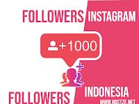 Cara Menambah 3600 Followers Instagram dari Indonesia Gratis dalam Sehari (1000% Works)