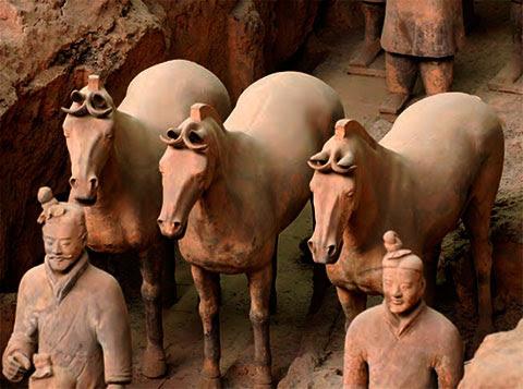 china terracotta kuda
