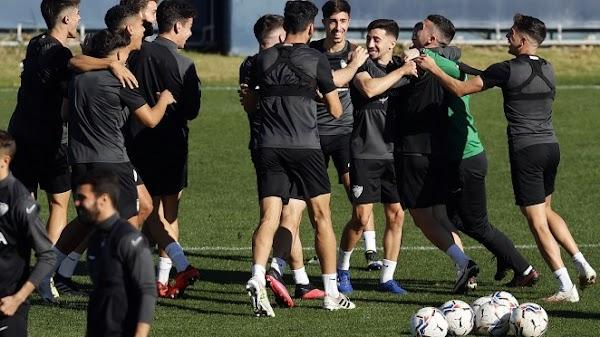 Málaga, sesión de descarga a dos días del partido ante el Alcorcón
