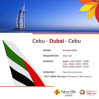 cebu dubai flights