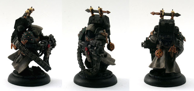 Deathwatch RPG Dark Angels Space Marine Miniature Conversion 40k