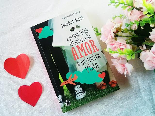 Livro A probabilidade estatística do amor a primeira vista