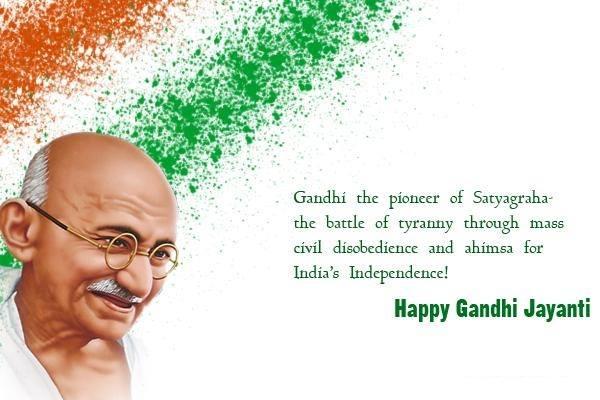 Gandhi Jayanti Day