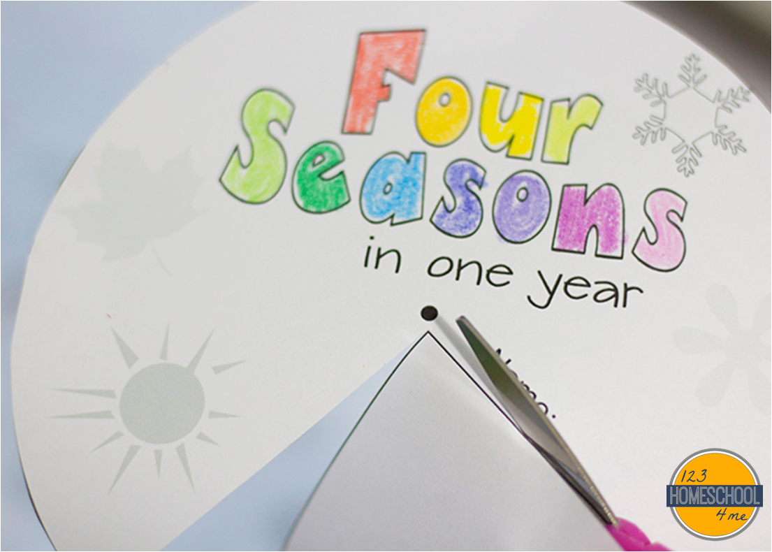 Free Printable Seasons Activities