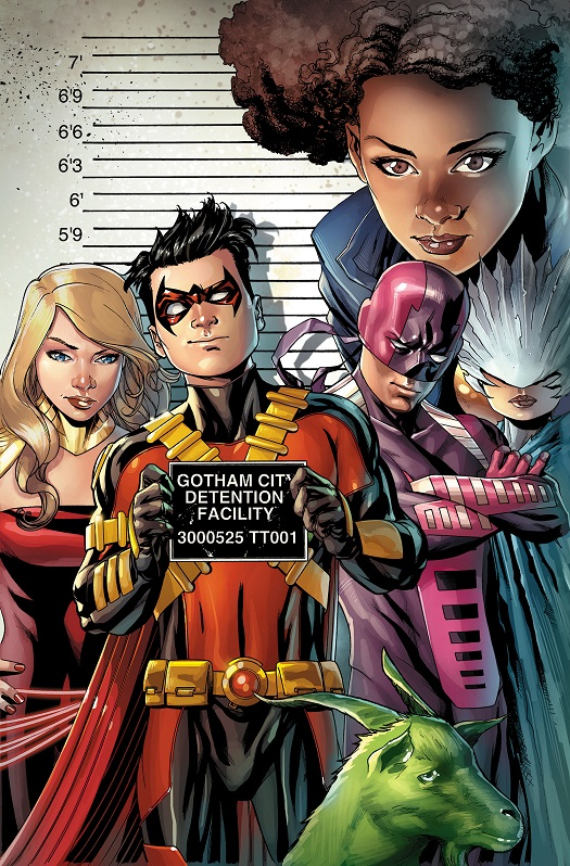 The Teen Titans Comic