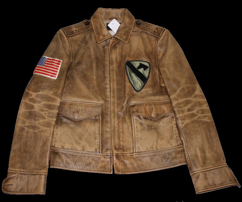Rrl leather jacket