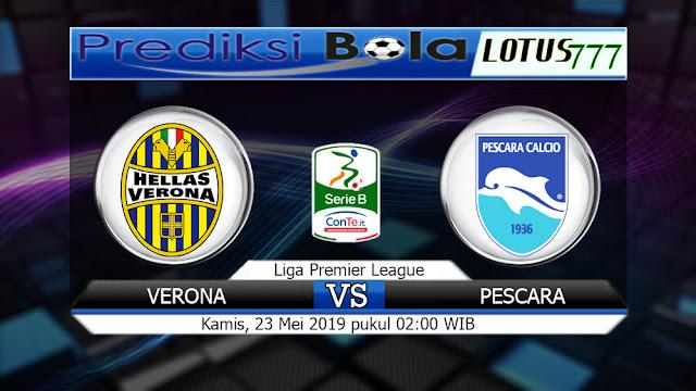 Prediksi Verona vs Pescara  Kamis 23 Mei 2019 02:00