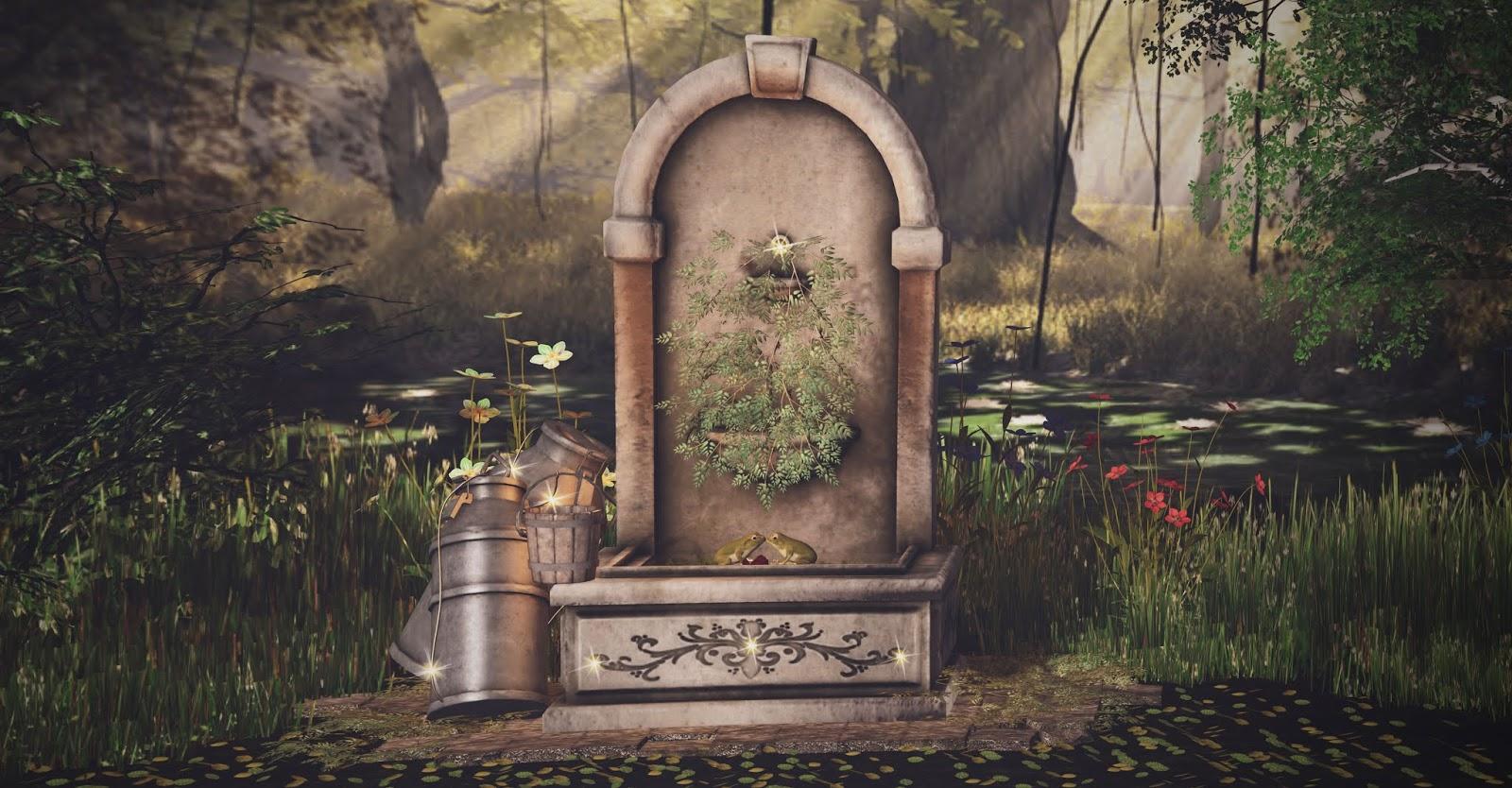 Froggy Fountain