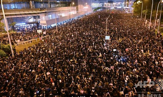 香港デモ090616