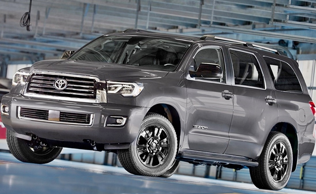 new 2018 toyota sequoia trd sport release date and price. Black Bedroom Furniture Sets. Home Design Ideas