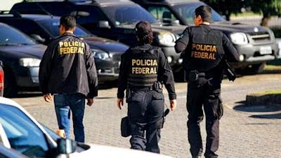 PF busca núcleo financeiro de facção criminosa