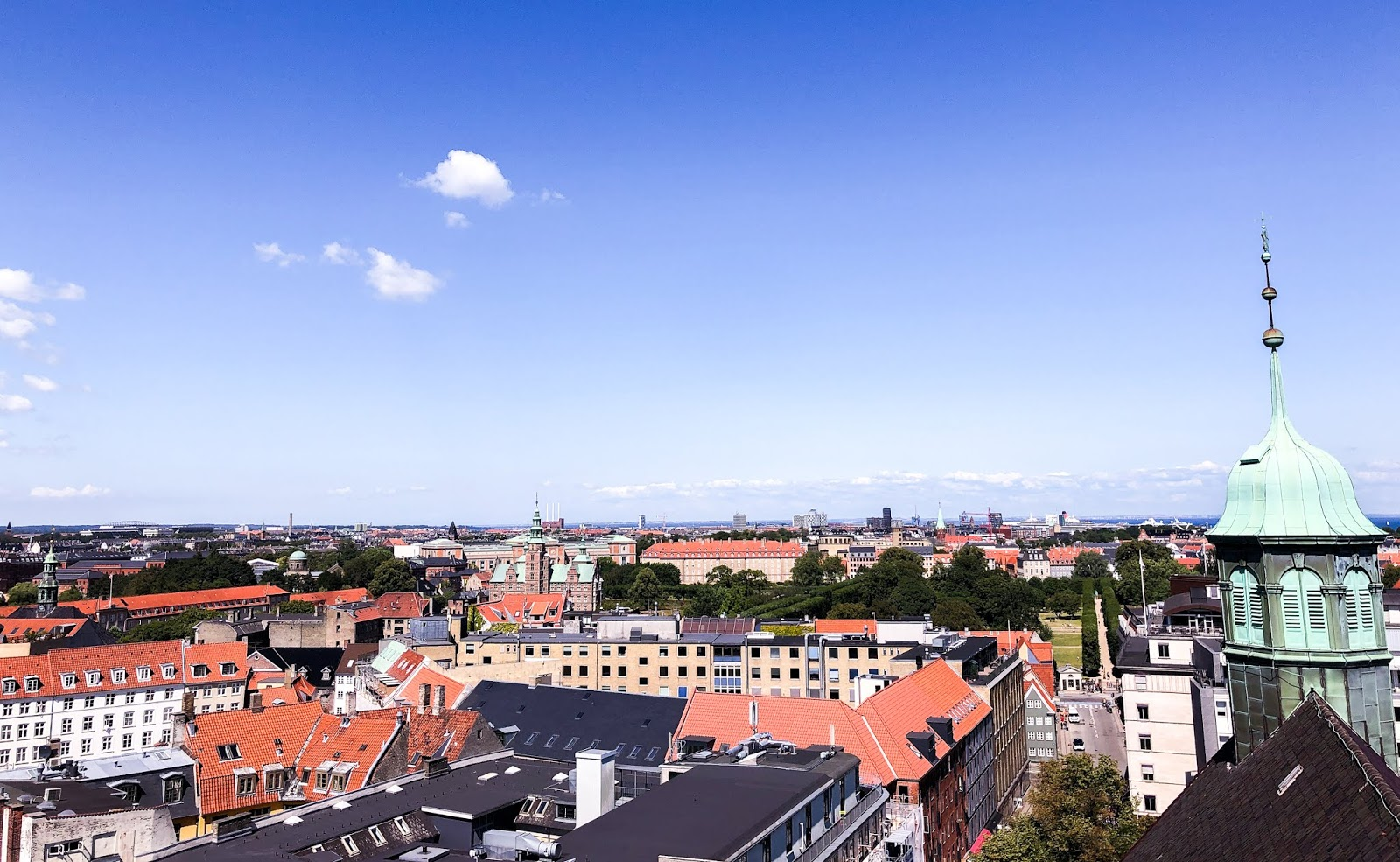 Copenhagen skyline; how much money do I need to take to Copenhagen?