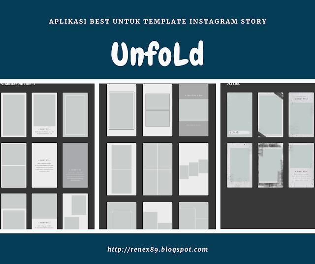 5 Aplikasi Best untuk Template Instagram Story bagi pengguna Android
