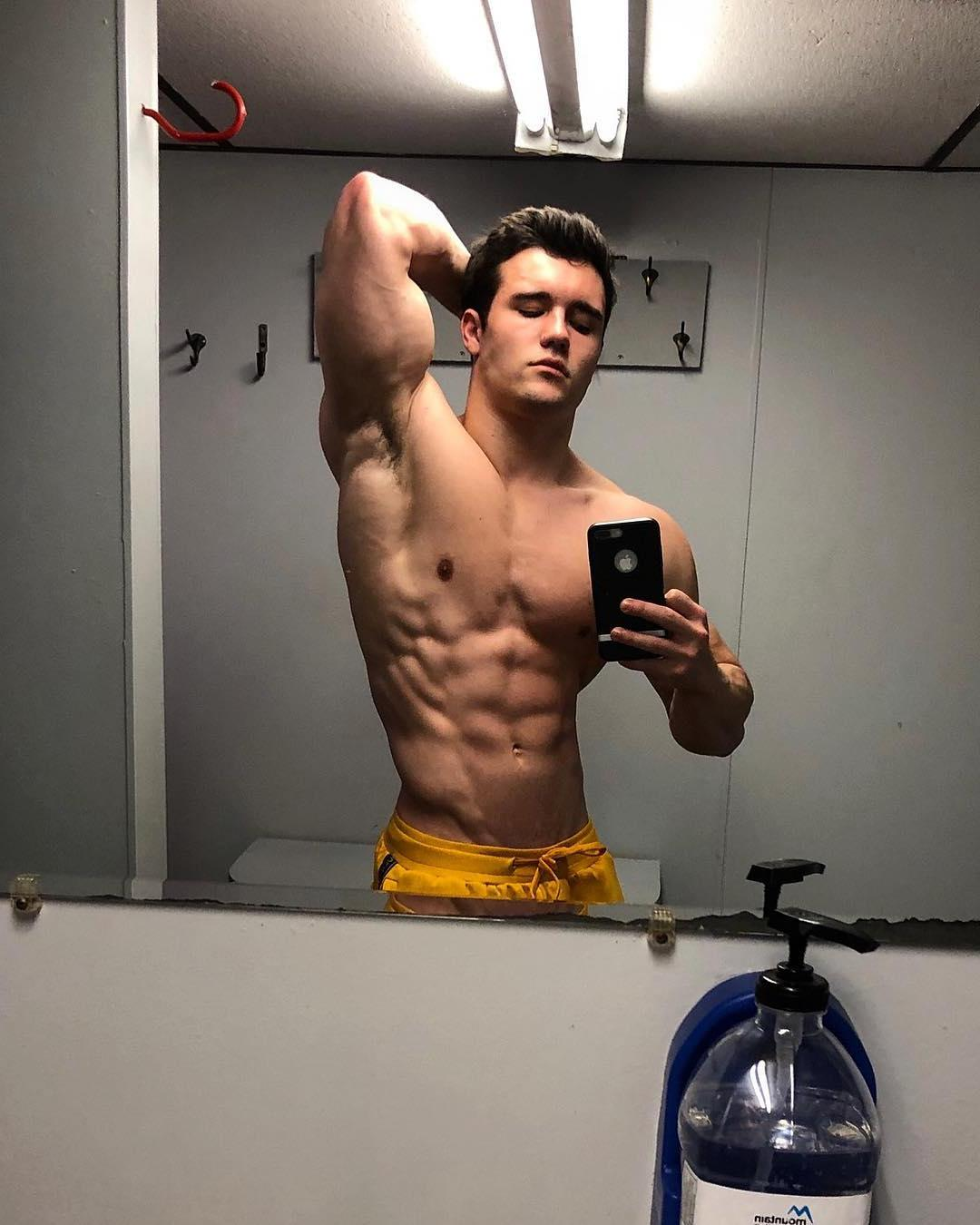 cocky-fit-young-shirtless-hunk-sexy-muscular-bad-boy-selfie